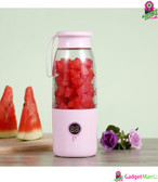 K-106 Mini Electronic Blender Cup Pink