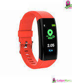 L2B38-B06 Sports Wristband Smart Band Red