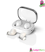 TWS Dual Microphone Earphone White