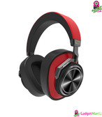 Bluedio T6S Bluetooth Headphones Red