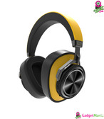 Bluedio T6S Bluetooth Headphones Yellow