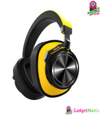 Bluedio T6 Noise Cancelling Headphones Yellow