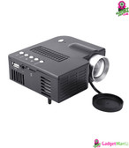 UC28A Mini LED Projector Black US Plug