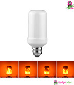 Creative Simulate LED Flame Bulb - E27