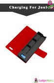 1200mAh E-Cigarette Charger Box - Red