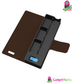 1200mAh E-Cigarette Charger Box - Brown