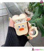 Cute Earphone Case for Airpods Light Brown