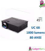 Portable Mini LED Projector - AU Plug