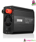DC 12V to 110V AC Car Converter - 300W