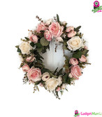 Artificial Simulation Flowers Garland Pink