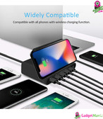 10W Qi Wireless Charger US Plug