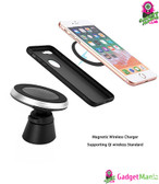 Qi Wireless Car Charger Magnetic Phone Holder