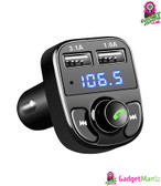 FM Transmitter Aux Modulator Bluetooth Car