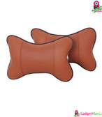 Leather Pillow Soft Headrest Cushion Pad