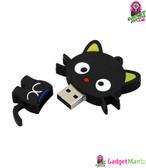 Cat USB Flash Drive U Disk 2.0 - Black 8G