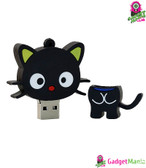 Cat USB Flash Drive U Disk 2.0 - Black 16G