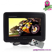 """Titanplane"" Car LCD Monitor - 7"" TFT LCD Widescreen In-car Headrest/Stand AV"