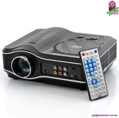 """Lightspyre"" LED Projector with DVD Player - Built-in DVD Player USB Port TV"