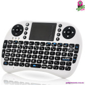 """CrimeaX"" Mini Wireless Keyboard - Qwerty Keyboard Game Controller Mouse Pad"