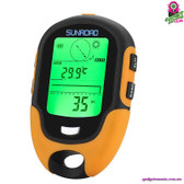 """Thunderscribe"" Outdoor Sports Altimeter - Compass Thermometer Barometer"