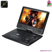 """Cybertale"" Portable DVD Player (Black) - 9"" TFT LED Display Region Free"