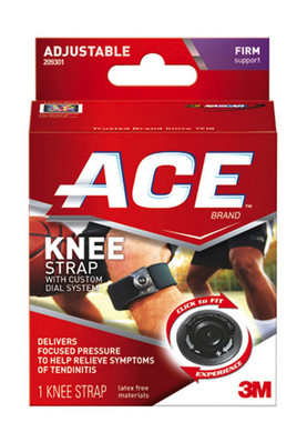 Ace Knee Strap with Adjustable Custom Dial System