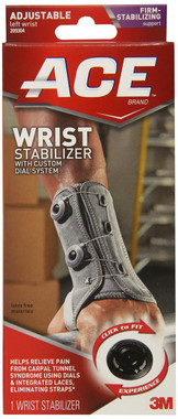 Helps relieve pain from carpal tunnel syndrome using dials and integrated lacing system Eliminates straps Low cut, ergonomic shape allows for freedom of hand movement