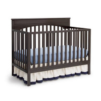 Delta Children Layla 4-in-1 Crib, Dark Chocolate