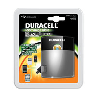 Duracell Powerhouse USB Charger with Lithium Ion Battery