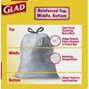 Glad Tall Kitchen 13 Gallon Trash Bag, 45 Count
