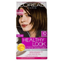 L'Oreal Healthy Look Creme Gloss Color, 4G Dark Golden Brown