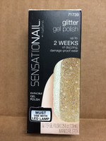 Nailene SensatioNail Gel Glitter, Gold Glitter