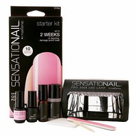 Nailene SensatioNail Gel Polish Starter Kit, Pink Chiffon