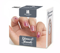 Red Carpet Manicure, Gems and Jewels