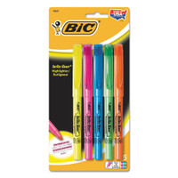 Super bright fluorescent ink. Chisel tip for broad highlighting or fine underlining. ACMI approved non-toxic. Available in assorted ink. Made in the USA of US & Foreign Parts