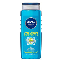 NIVEA Power Refresh Shower Gel, with its invigorating and refreshing fragrances of Menthol & Water Mint, is specially designed for men who crave that extra burst of freshness. Its caring formula is specially designed with a 3-n-1 action for Body, Hair & Face. Skin compatibility dermatologically approved.