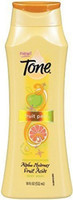 Tone Citrus Peel Exfoliating Body Wash, With Alpha Hydroxy Fruit Acids, 16 Fl. Oz  Product Description An apple a day keeps dull skin away .... The creamy lather of Tone Fruit Peel Body Wash blends sun-kissed apple, kiwi and citrus with alpha-hydroxy acids, to gently exfoliate and leave skin smooth and soft. Orange-U-Looking Fabulous!  Brand: Fruit Peel UPC: 17000132280