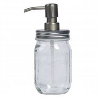 Product Description:  Mason Condiment Pump  A Mason Condiment Pump is a handy accessory to have when hosting cookouts for family and friends. The glass base allows guests to easily see what's inside and the pump easily dispenses while keeping messes to a minimum. Tastefully serve ketchup, mustard or any other condiment for burgers and hot dogs in this mason jar-styled pump.  Item Specifics:  UPC: 048552456470  Brand: Mason Craft