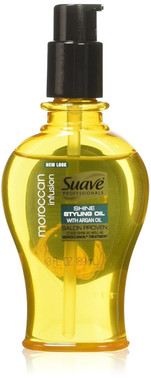 Suave Professionals Moroccan Infusion Styling Oil, 3 oz.