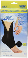 Ankle Genie Ankle Compression Sleeve - One Size Fits All