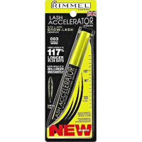 Rimmel London Lash Accelerator Mascara, 001 Black