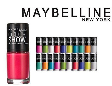Maybelline Color Show Nail Polish, Assorted - 10pk No Repeats