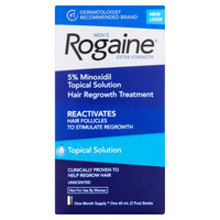 Men's Rogaine Extra Strength Hair Regrowth Treatment, Unscented, 1 month supply
