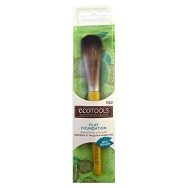 EcoTools Bamboo Foundation Brush, Flat
