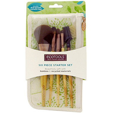 Ecotool Brush Set, 6 pc