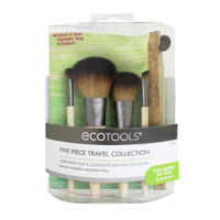 EcoTools Bamboo Travel Brush Set, 5 pc
