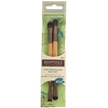 EcoTools Eye Enhancing Duo Makeup brush set