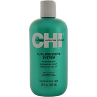 CHI Curl Preserve Shampoo, 12 oz