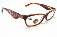 Ed Hardy Reading Glasses EHR 203 - TORTOISE +200