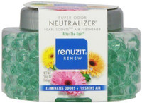 Renuzit Pearl Scents AFTER THE RAIN Air Freshener, 5.64oz